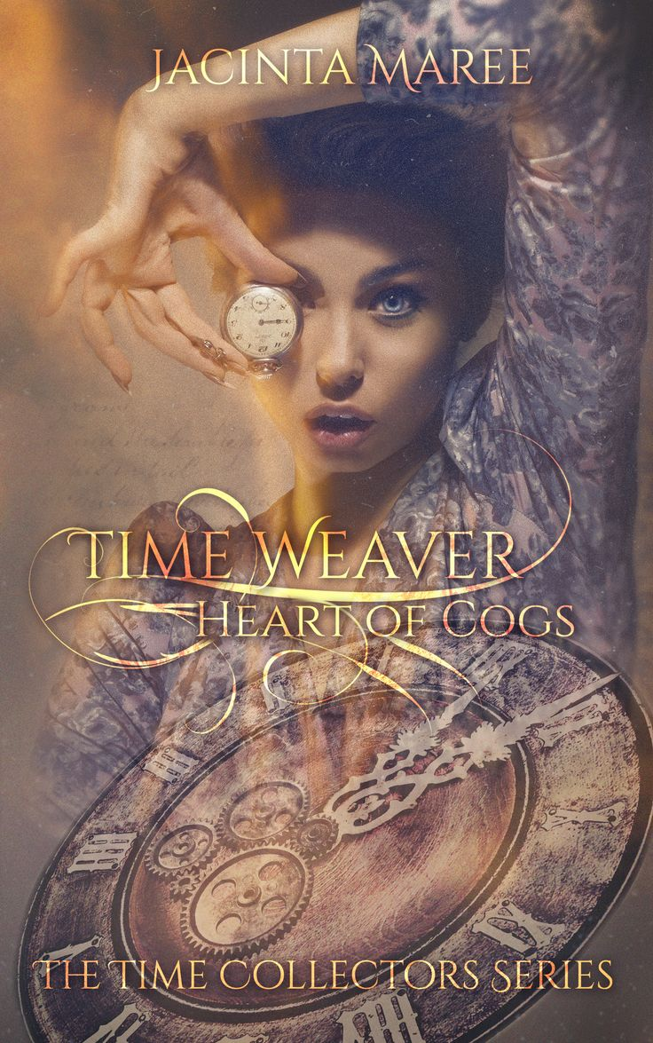 Time Weaver By Jacinta Maree Stephscoverdesign