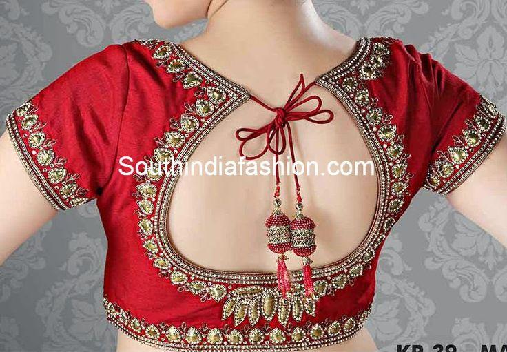 red_bridal_blouse.jpg (867×603)