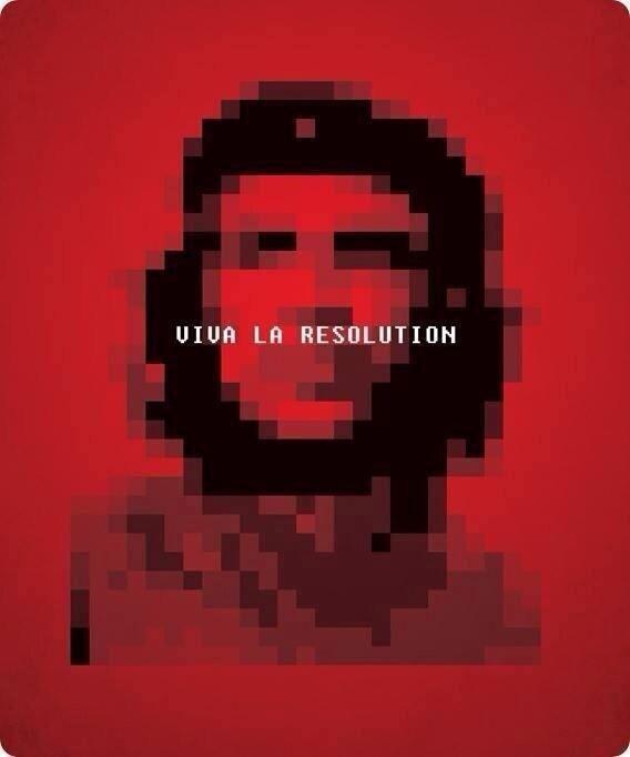 che Guevara.. viva la Resolution