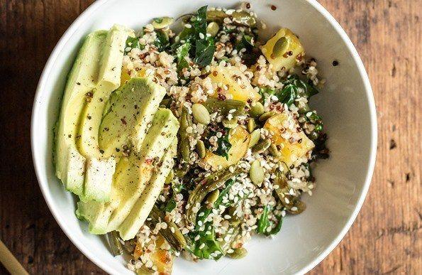 Warm Roasted Vegetable Salad Bowl