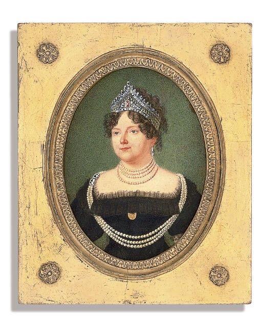 ca. 1817 Dowager Empress Maria Feodorovna of Russia | Grand Ladies | gogm