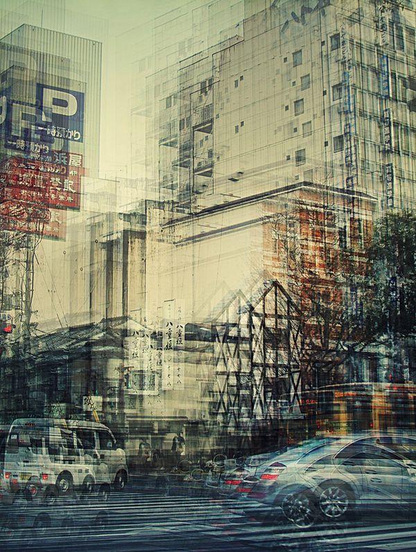 Japan III by Stephanie Jung, via Behance