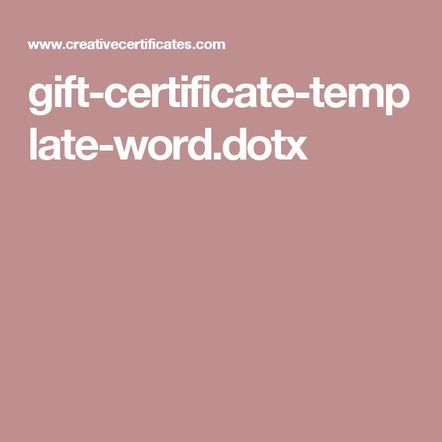 V ce ne 25 nejlep ch n pad na Pinterestu na t ma Gift – Gift Certificate Template Word 2003