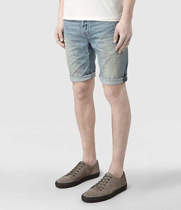 Mens Hanako Switch Shorts (Indigo) | ALLSAINTS.com