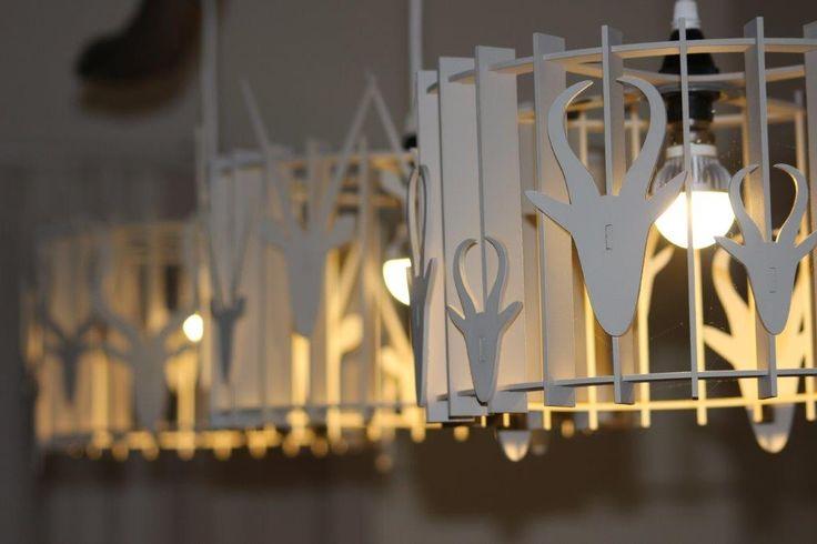 Buck Lamp Shades Detail