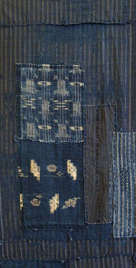 Japanese textile. Stripe on Stripe