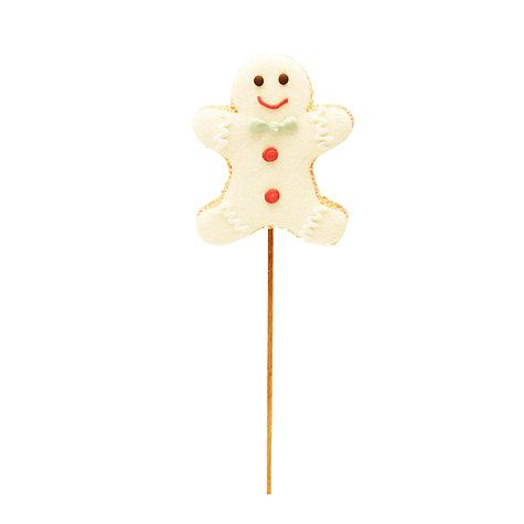 Buy Natalie Gingerbread Man Mallow Lolly, 25g Online at johnlewis.com