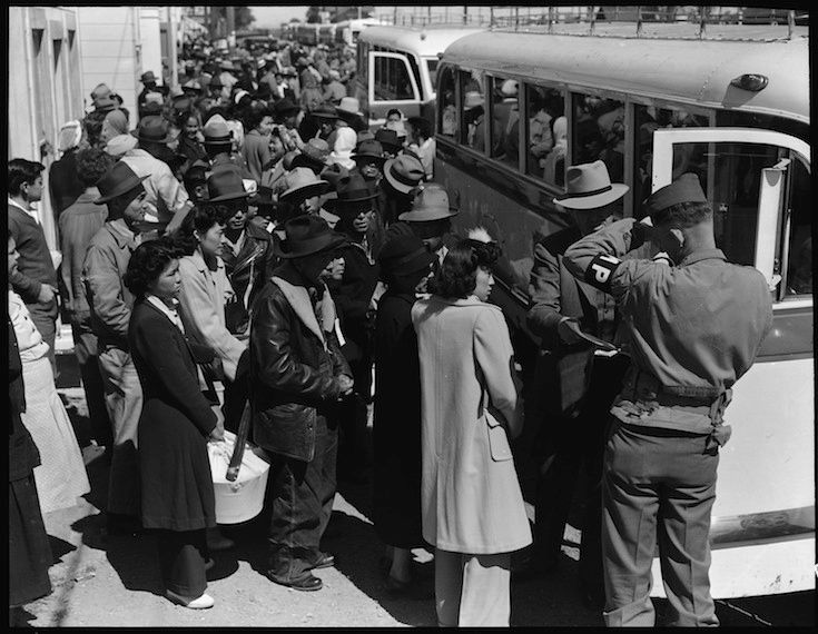 74 years ago, a U.S. president ordered an entire ethnic group to be placed in concentration camps on U.S. soil.