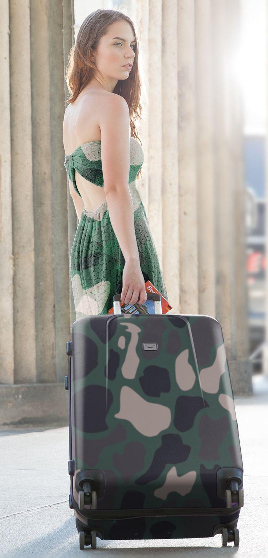 Verschiedene Modelle vom #Handgepäck in #Camouflage von #Hauptstadtkoffer #Army-Look #Military-Look #Reisen #Urlaub #Reisekoffer #Koffer #Hartschalenkoffer #Armeelook #tarnfarben