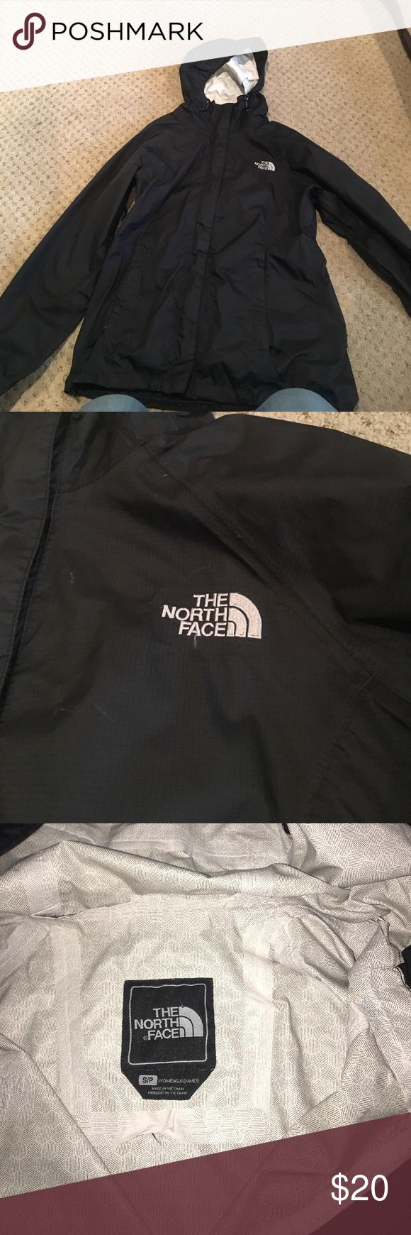 Northface windbreaker It has been worn a lot the inner liner is ripping a little bit but still have a lot of life in it North Face Jackets & Coats