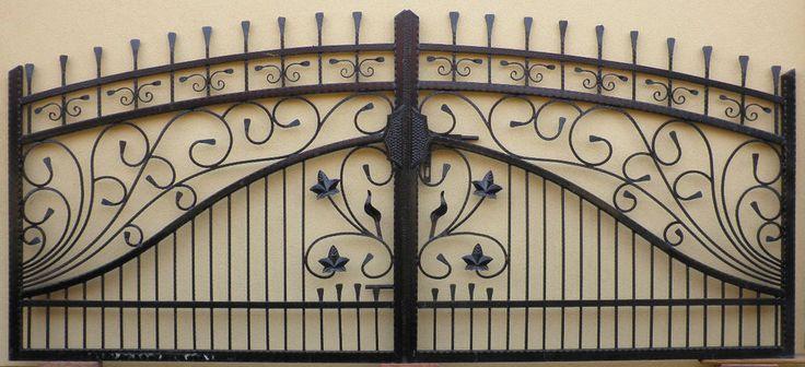 Cancello Carrabile Ferro Tor Iron Gate Flügeltore Portail En Fer Forgé Puerta