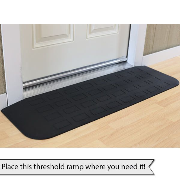 how to make a threshold ramp for wheelchair