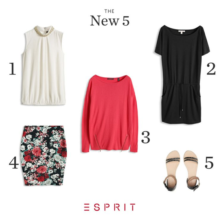 """Here are our best """"New Arrivals"""" of the week! Which #Esprit #style do you prefer?"""