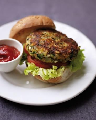 Lunedi Senza Carne Hamburger di lenticchie