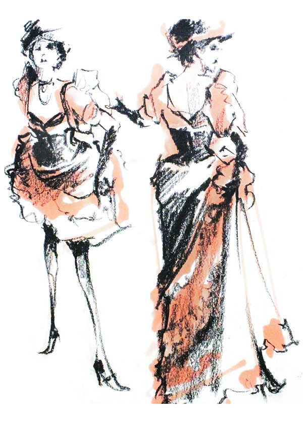 The Drawing Club - Moulin Rouge on FIT Portfolios