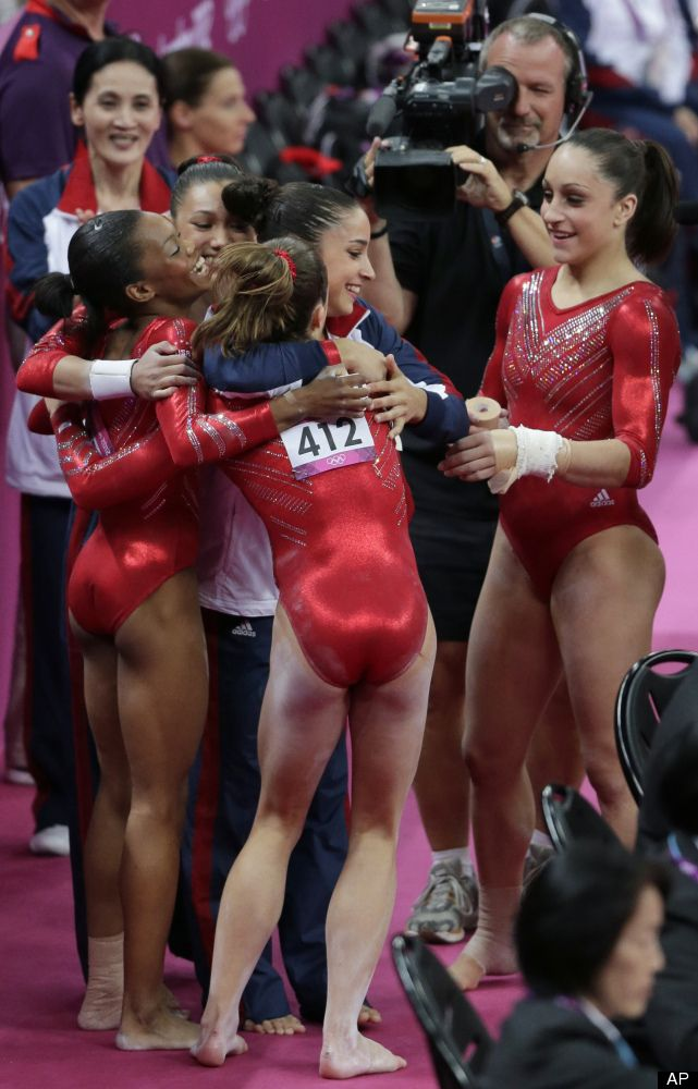 U.S. Women's Gymnastics Wins Team Gold Medal At London Olympics (PHOTOS)