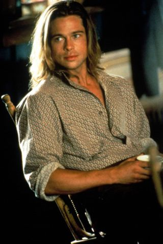 I had this poster framed on my wall for years. He will always be my number 1.  -Brad Pitt, Legends of the Fall