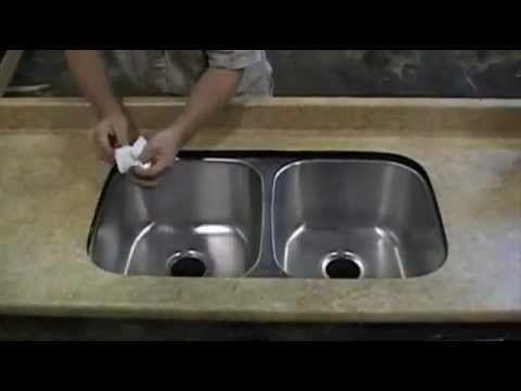 Laminate Under Mount Sink Installation
