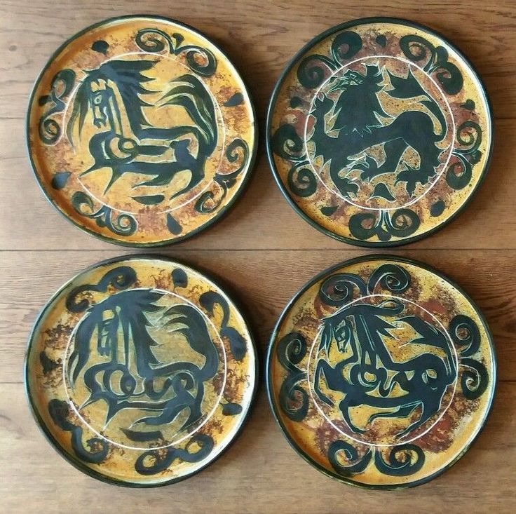SET OF FOUR EARLY CELTIC POTTERY NEWLYN DISHES & The 14 best Celtic pottery images on Pinterest | Celtic Pottery ...
