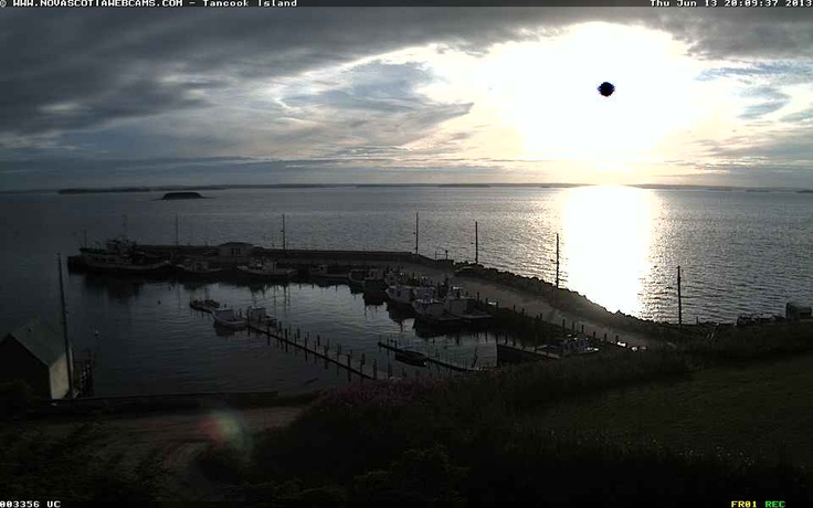 We have our own web cam at the dock on Big Tancook Island now! Watch for marvelous sunsets here!