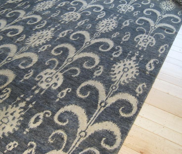 beautiful blue rug