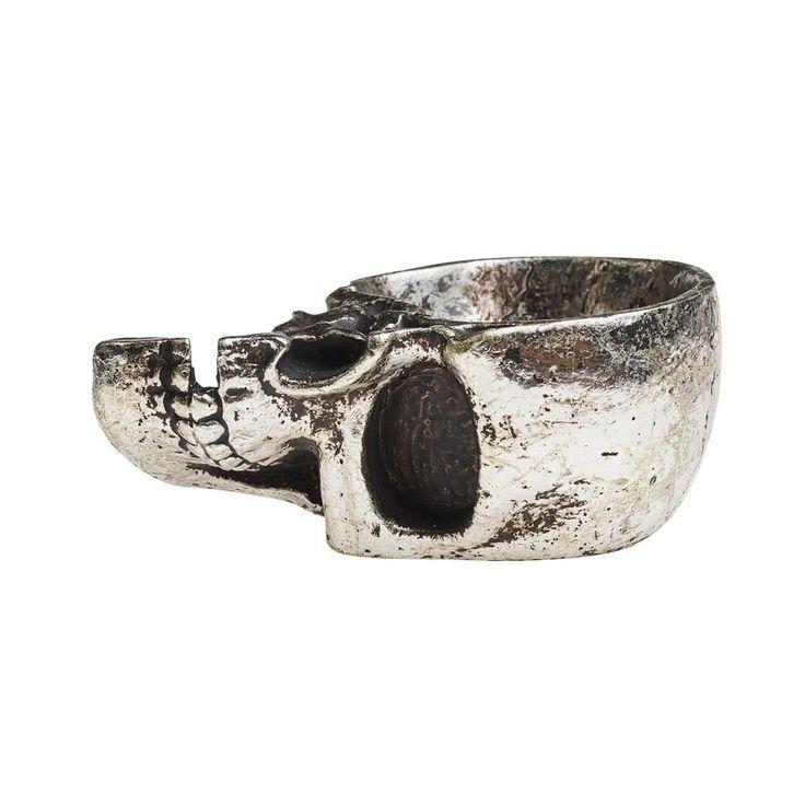 The 25 best half skull ideas on pinterest skeleton for Alchemy skull decoration