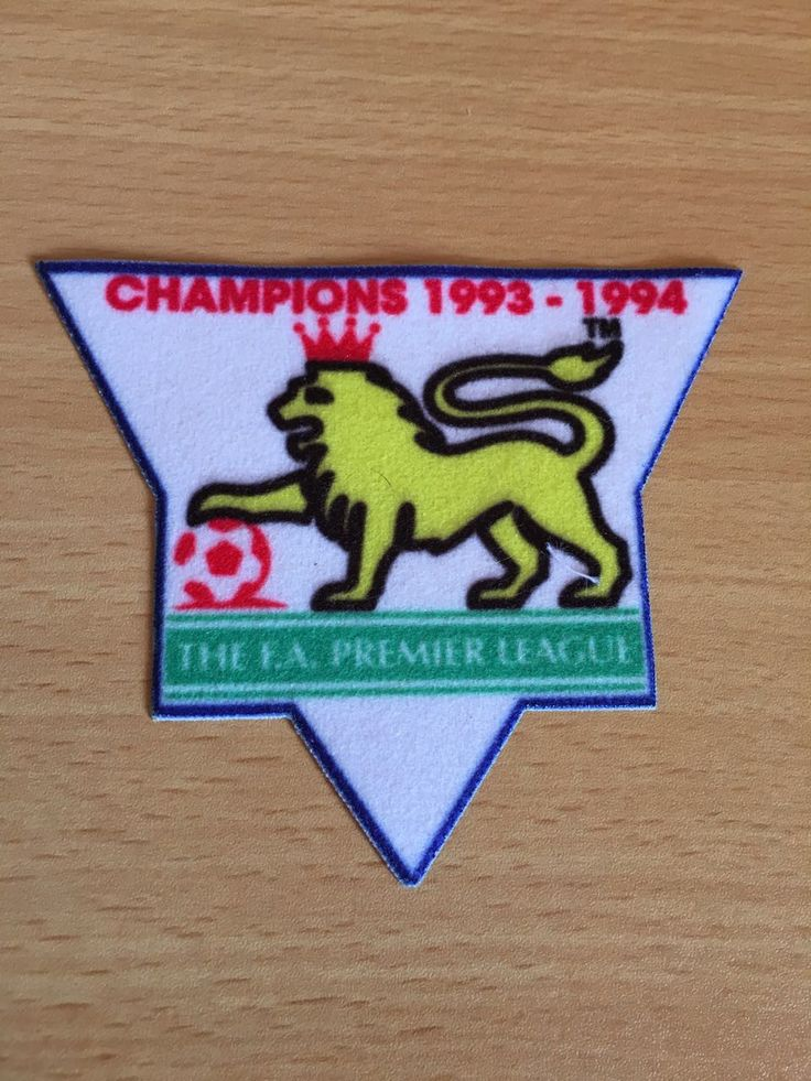 1993-94 The F.A Premier League Champions Patch
