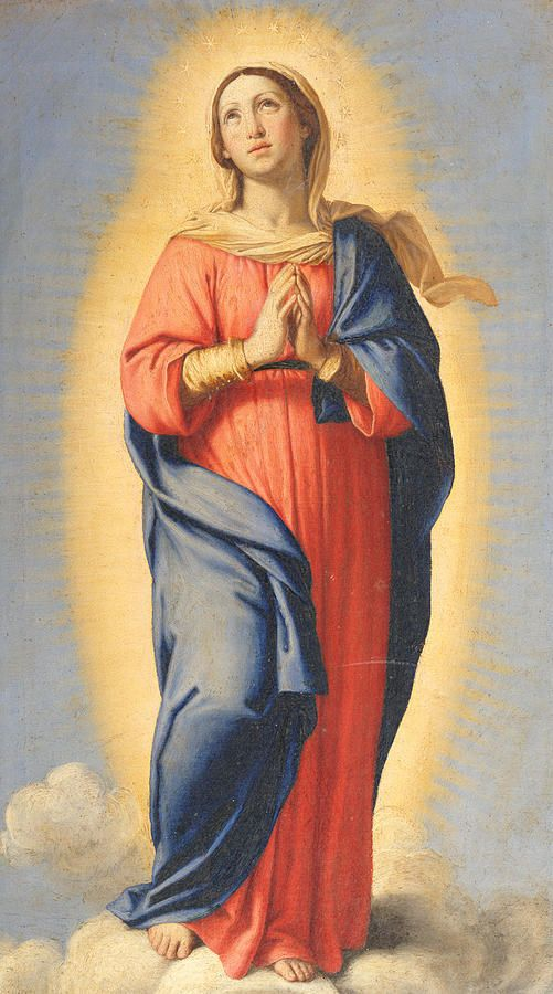 Have a wonderful Immaculate Conception feast day! The Immaculate Conception by Sassoferrato