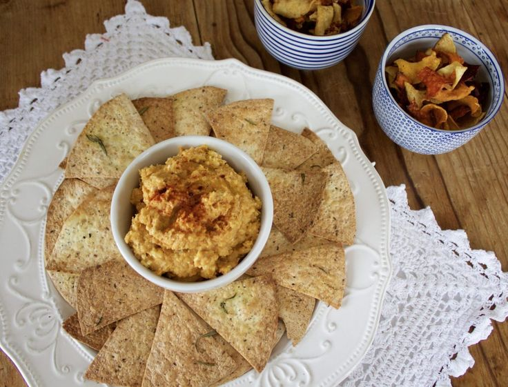 Roasted Butternut Hummus Recipe via More Than Food Mag | Recipe by An Ode To Eating
