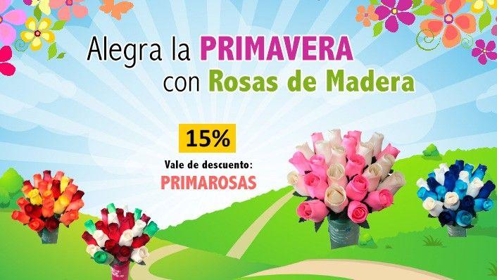 Ofertas de #primavera, #ofertas, #decoración, #flores