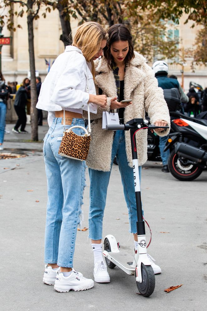 Amazing Street style at Paris Fashion Week Spring-Summer 2019 © Sandra Semburg