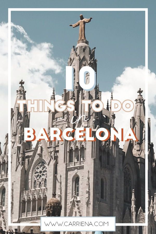 Tibidabo Top 10 Things To Do In Barcelona Spain In 2019