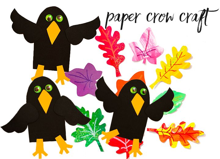 A simple fall craft to make with your kids. All you need is a pencil, black paper and scissors.