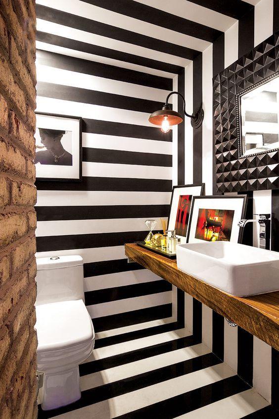 Casinha colorida: Vai reformar o lavabo? Não perca esse post inspirador