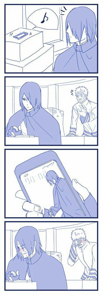 Sasuke y Naruto xD