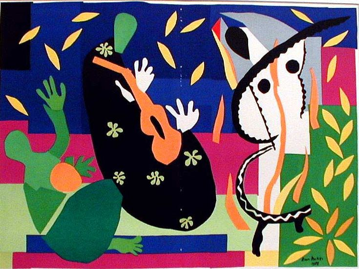 Populaire 27 best Matisse paper collage images on Pinterest | Henri matisse  IZ71