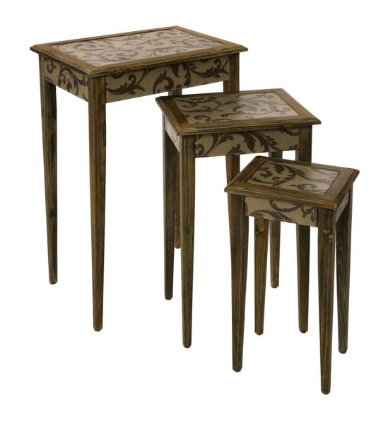 waverly nesting tables set of 3 occassional accent tables pinterest nesting tables. Black Bedroom Furniture Sets. Home Design Ideas