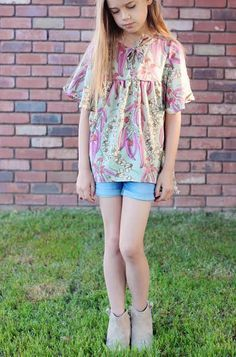 Naples Dress Tunic by Chelise Patterson
