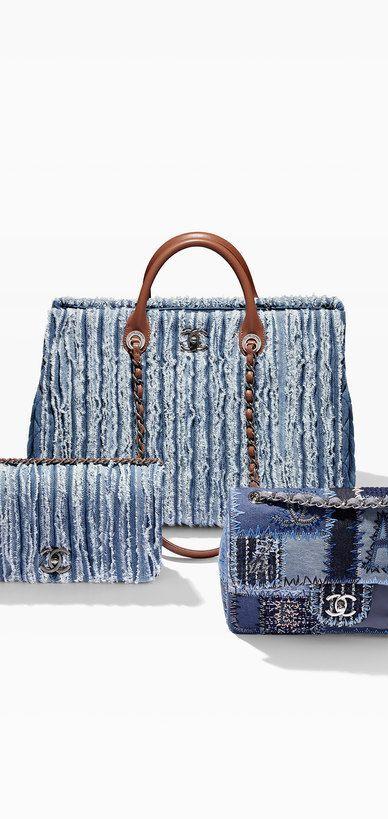 Chanel Handbags Denim  collection & more