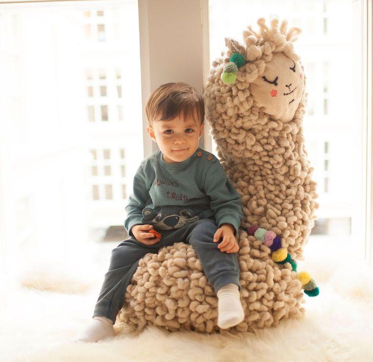 Llama Plush from Hola Vicu on Etsy