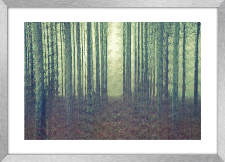 THE CLEARING | Landscape photography, motion blur, abstract, Greece, wall art, fine art print, canvas prints by KBphotostudio on Etsy