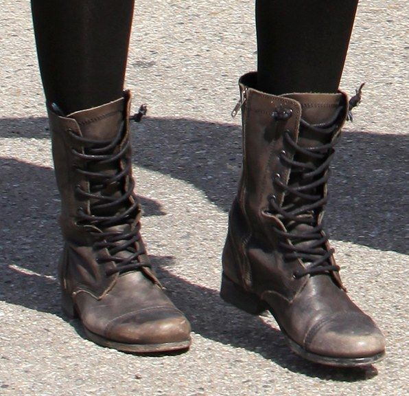THE hottest trend in footwear: Combat boots! Keep your eyes peeled, you just might see a dance combat boot on DDS....