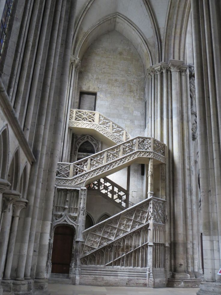 Fred. Olsen Cruise Lines - Mini Cruise aboard Braemar - Inside Rouen Cathedral
