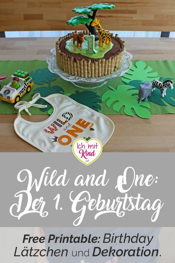Wild And One Die Wilde Deko Fur Den Ersten Geburtstag Felix