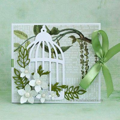 """Конверт для диска с фотографиями """"Весна"""" #card #scrapbooking #postcard #scrap"""