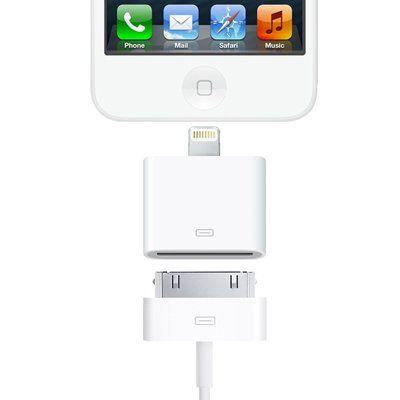 VENKON - Adaptador 8 Pin a 30 Pin para Apple iPhone 5S, iPhone 5C, iPhone 5 / iPad 4 / iPad mini / iPod Touch 5G / iPod Nano 7G - blanco - !!! NOTA: No Transferencia de música !!! B00GACB6ZU - http://www.comprartabletas.es/venkon-adaptador-8-pin-a-30-pin-para-apple-iphone-5s-iphone-5c-iphone-5-ipad-4-ipad-mini-ipod-touch-5g-ipod-nano-7g-blanco-nota-no-transferencia-de-musica-b00gacb6zu.html