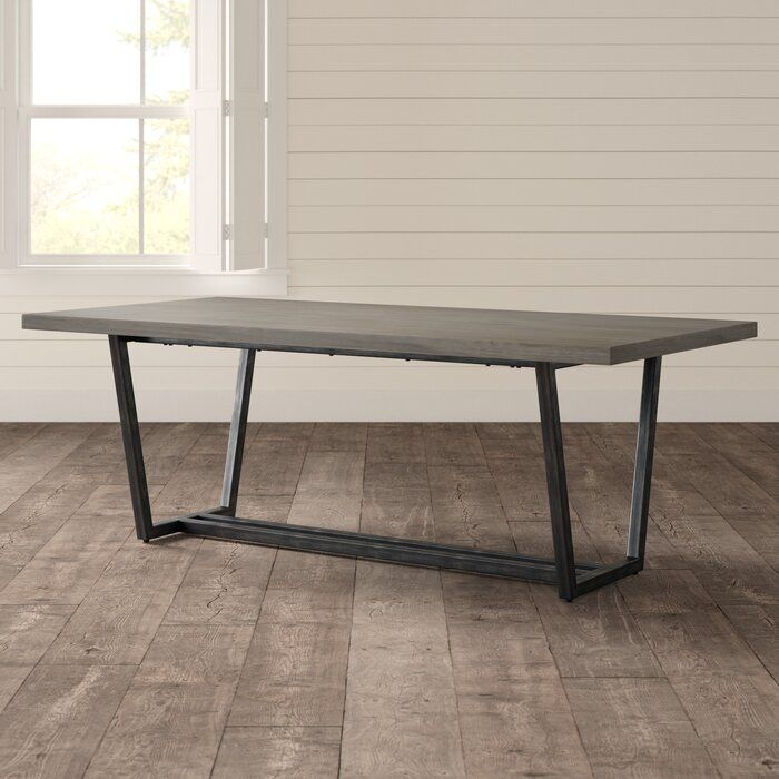 Doylan Solid Wood Dining Table Dining Table In Kitchen Dining