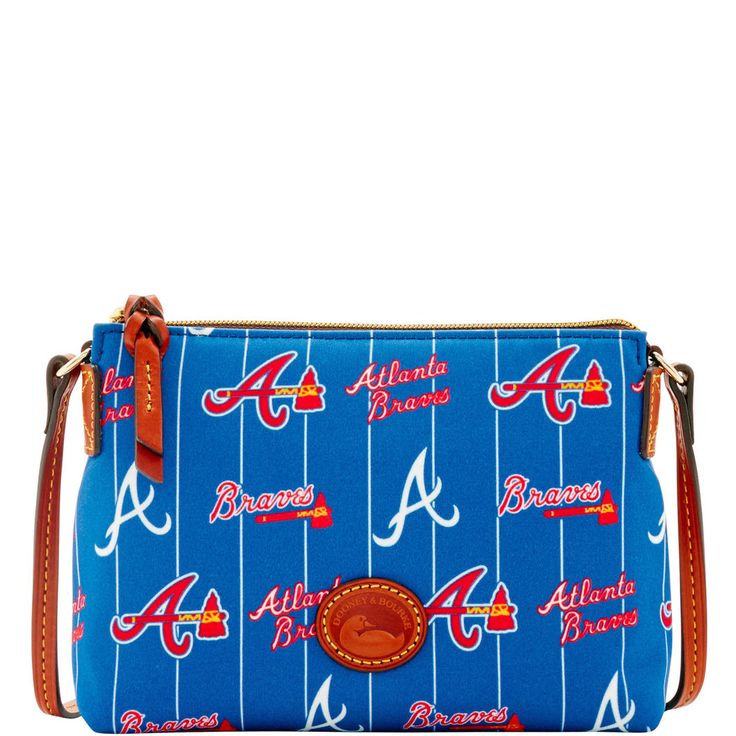 Dooney & Bourke | MLB Braves Crossbody Pouchette