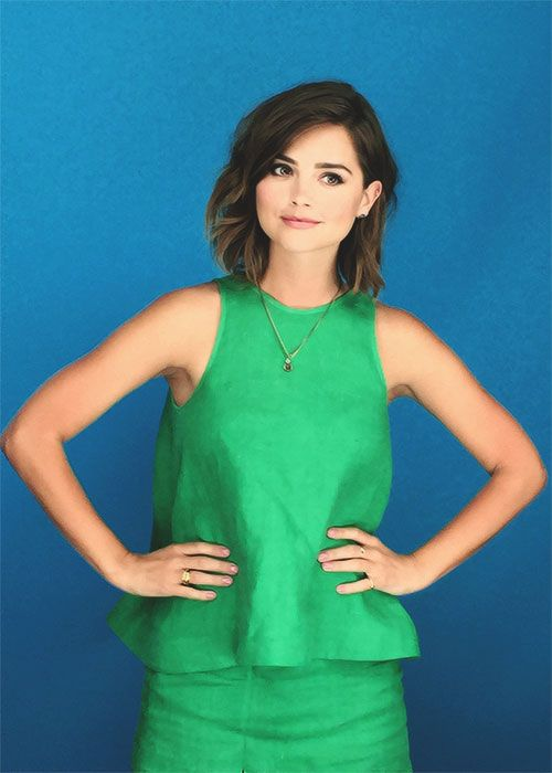 Jenna Coleman | Entertainment Weekly Comic Con Portraits                                                                                                                                                      More