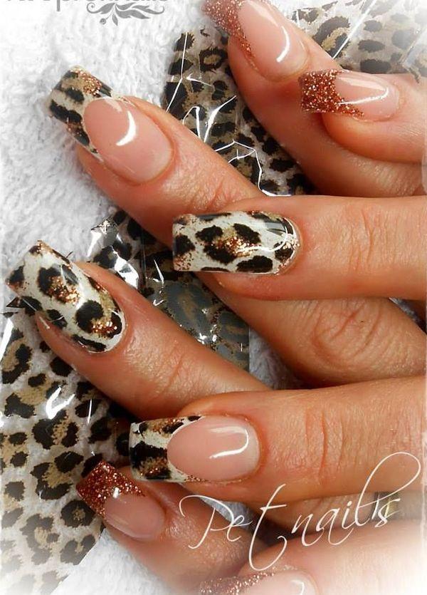 Гепард ногтей - 50 гепарда дизайн ногтей | Арт и дизайн